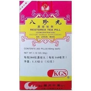 BA ZHEN WAN - Restorex Tea Pill | Chinese Herbal Medicine Formula Supplement | Best Chinese Medicines