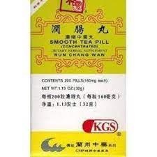 RUN CHANG WAN - Smooth Tea Pill | Chinese Herbal Medicine Formula Supplement | Best Chinese Medicines