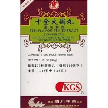 SHI QUAN DA BU WAN - Ten Flavor Tea Extract | Chinese Herbal Medicine Supplement | Best Chinese Medicines