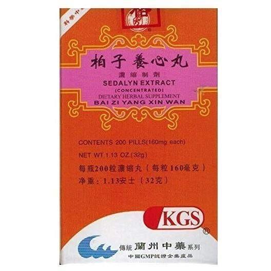 Bai Zhi Yang Xin Wan | Sedalyn Extract | Best Chinese Medicines
