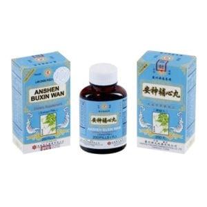 An Shen Bu Xin Wan – Lan Zhou Foci Brand