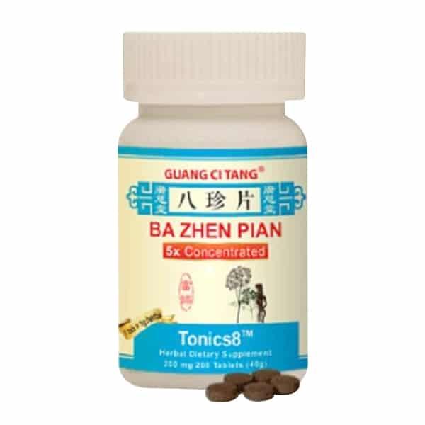 Tonics8 - Guang Ci Tang Brand | Ba Zhen Pian | ActiveHerb | Best Chinese Medicines