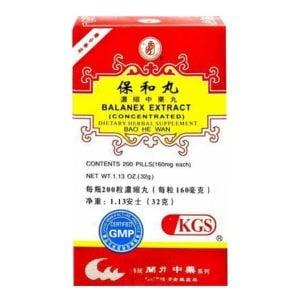 Bao He Wan – Balanex Extract – Kingsway (KGS) Brand