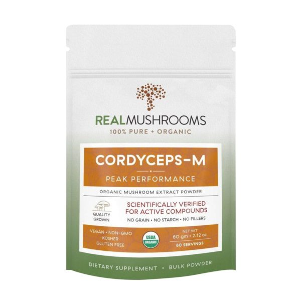 cordyceps militaris mushroom powder by real mushrooms 1