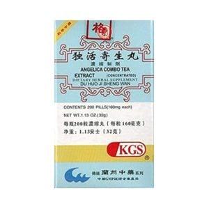 Du Huo Ji Sheng Wan – Angelica Combo Tea Extract – Kingsway (KGS) Brand
