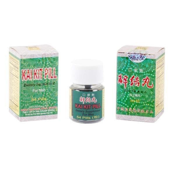 han yang brand kai kit pill also known as jie jie wan or qian lie xian