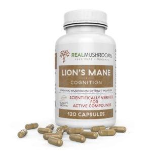 Lion's Mane Mushroom Capsules – by Real Mushrooms