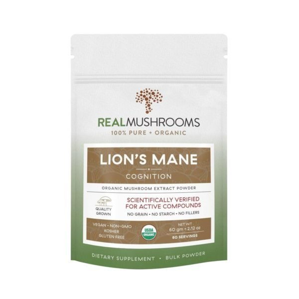 Lion's Mane Mushroom Powder | Real Mushrooms | Best Chinese Medicines