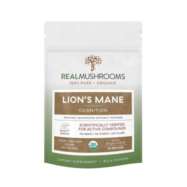 Lion's Mane Mushroom Powder   Real Mushrooms   Best Chinese Medicines