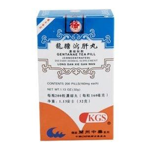 Long Dan Xie Gan Wan – Gentanae Teapill – Kingsway (KGS) Brand