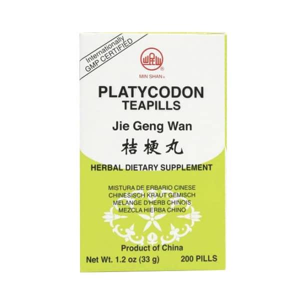 Min Shan - Platycodon Teapills | Jie Geng Wan | Mayway | Best Chinese Medicines