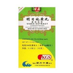 Ming Mu Di Huang Wan – Visex Extract – Kingsway (KGS) Brand