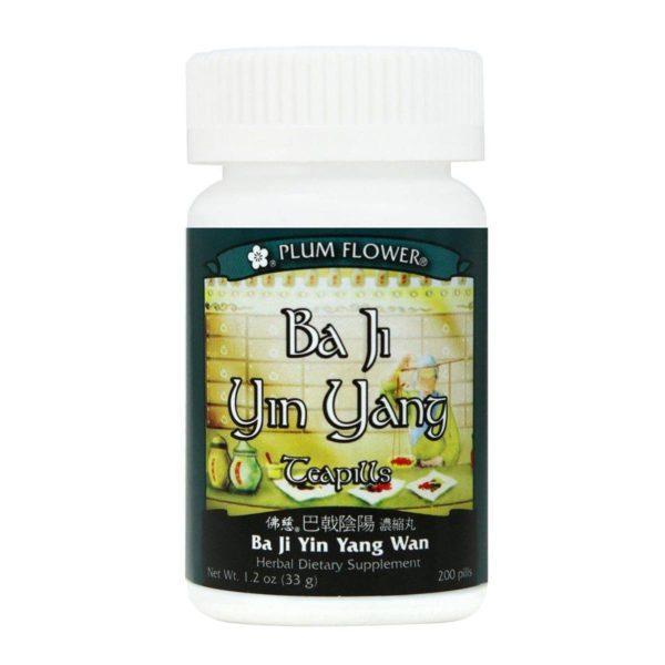Plum Flower - Ba Ji Yin Yang Teapills | Ba Ji Yin Yang Wan | Mayway | Best Chinese Medicines