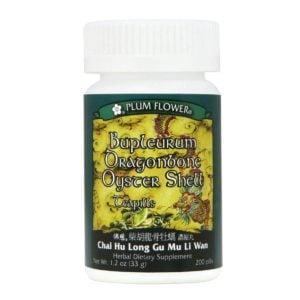 Plum Flower – Bupleurum Dragonbone Oyster Shell Teapills – Chai Hu Long Gu Mu Li Wan