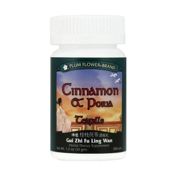 Plum Flower - Cinnamon & Poria Teapills | Gui Zhi Fu Ling Wan | Mayway | Best Chinese Medicines