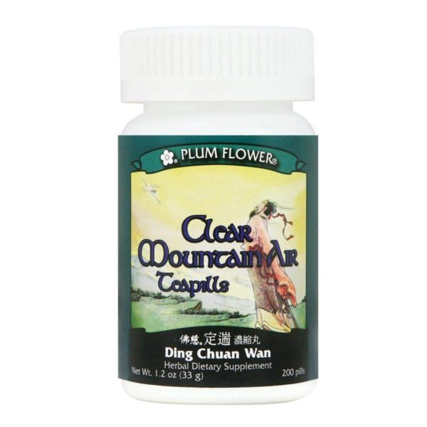 Plum Flower - Clear Mountain Air Teapills | Ding Chuan Wan | Mayway | Best Chinese Medicines