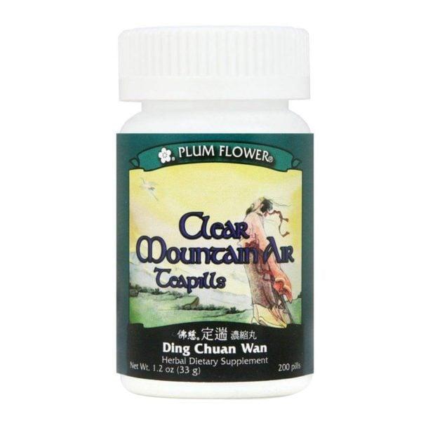 Plum Flower - Clear Mountain Air Teapills | Ding Chuan Wan | Mayway | Best Chinese Medicines