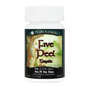 Plum Flower – Five Peel Teapills – Wu Pi Yin Wan