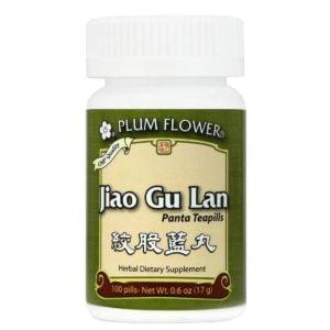Plum Flower – Jiao Gu Lan (Jiaogulan) Teapills