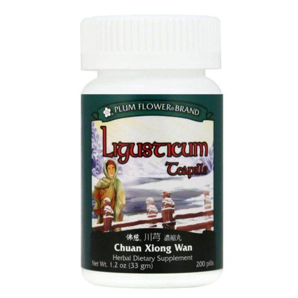 Plum Flower - Ligusticum Teapills | Chuan Xiong Wan | Mayway | Best Chinese Medicines