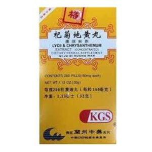 Qi Ju Di Huang Wan – Lycii & Chrysanthemum Extract – Kingsway (KGS) Brand