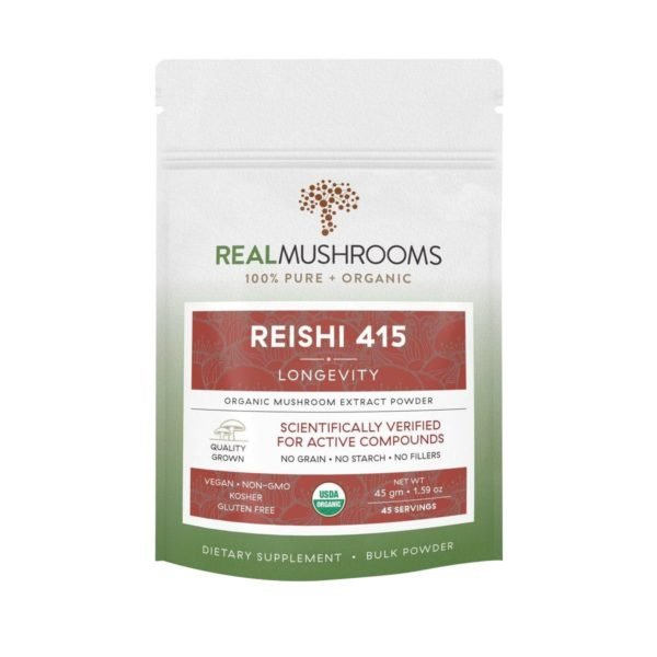 reishi mushroom powder real mushrooms 1