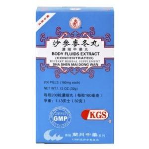 Sha Shen Mai Dong Wan – Body Fluids Extract- Kingsway (KGS) Brand
