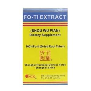 Shou Wu Pian (Fo-Ti Extract)