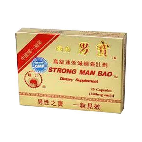Strong Man Bao | Qiang Li Nan Bao | Erectile Dysfunction - ED - Impotence - Sexual Performance | Best Chinese Medicines
