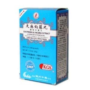 Tian Ma Gou Teng Wan – Gastrodia & Uncaria Extract – Kingsway (KGS) brand