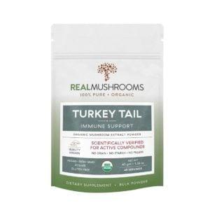 Turkey Tail Mushroom Powder by Real Mushrooms