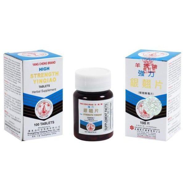yang cheng brand high strength yinqiao tablets yin chiao