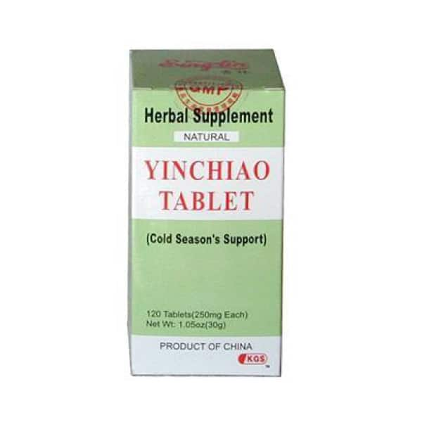 Yin Chiao Tablet | Kingsway (KGS) Brand | Sing-Lin Brand | Best Chinese Medicines